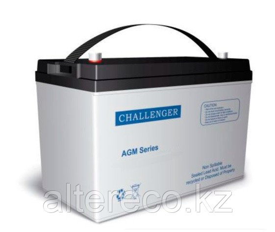 Тяговый аккумулятор Challenger EV12-110 (12В, 110Ач)