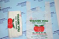 Пакет майка яблочки Green, фото 1