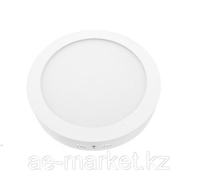 LED Спот накл. ROUND/S 18w d220 6500K бел.