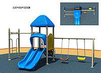 Детский спортивно-игровой комплекс Капитошка HD111 HUADONG