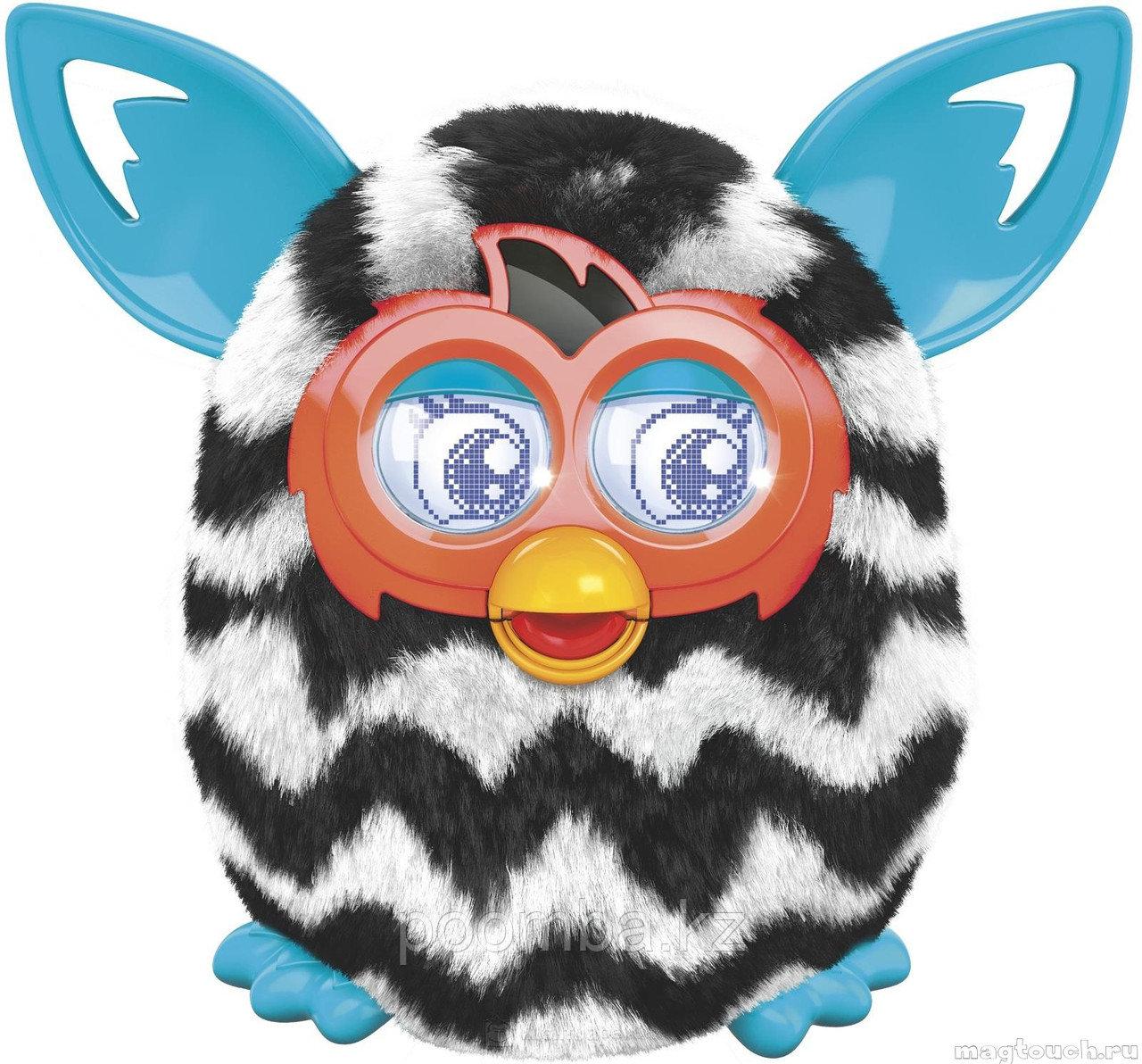 Furby Boom - Ферби Бум Zig Zag Stripes Зигзаг - говорит по русски, интерактивная игрушка от Hasbro.