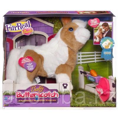 Интерактивная лошадка малыш пони Ириска Baby Butterscotch Pony от Hasbro
