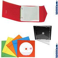 Дискетницы, боксы, папки и конверты для дисков