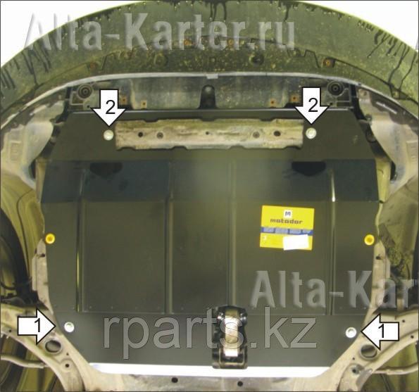Защита картера, КПП Mazda CX-7 2006-2013