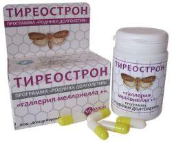 Тиреострон «Галлерия меллонелла +» ( Заболевания щитовидной железы), 56 кап