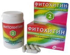Фитохитин – 2 (диабет - контроль) экстракт пчелиного подмора