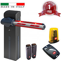 Шлагбаум GIOTTO 30BT Standart BFT - Италия (стрела 4.6 м, открытие 4.0 сек, до 3000 циклов/24 часа)