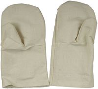 Рукавицы хлопчатобумажные, двунитка с двойным наладонником, XL
