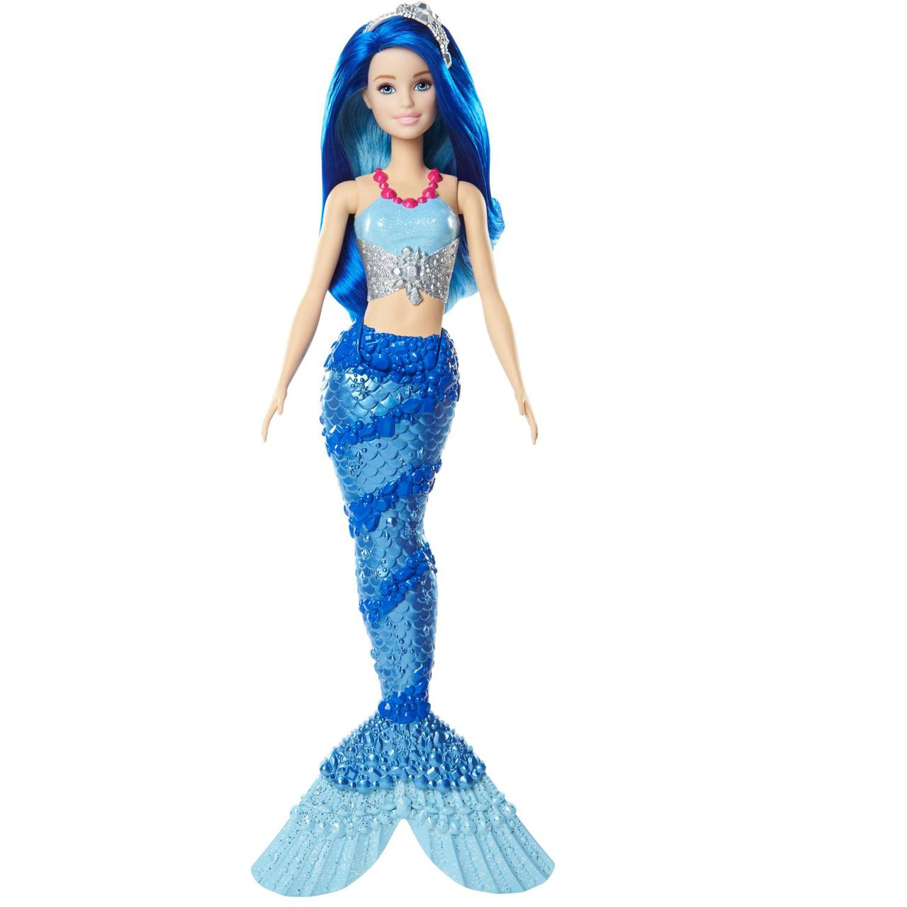 "Barbie ""Дримтопиа"" Кукла Барби Русалка (синие волосы)"