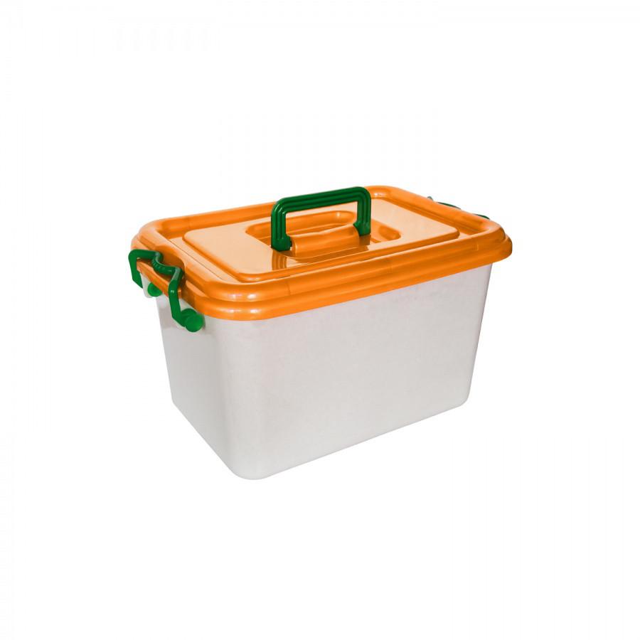Контейнер с крышкой (16 л.) из пластика