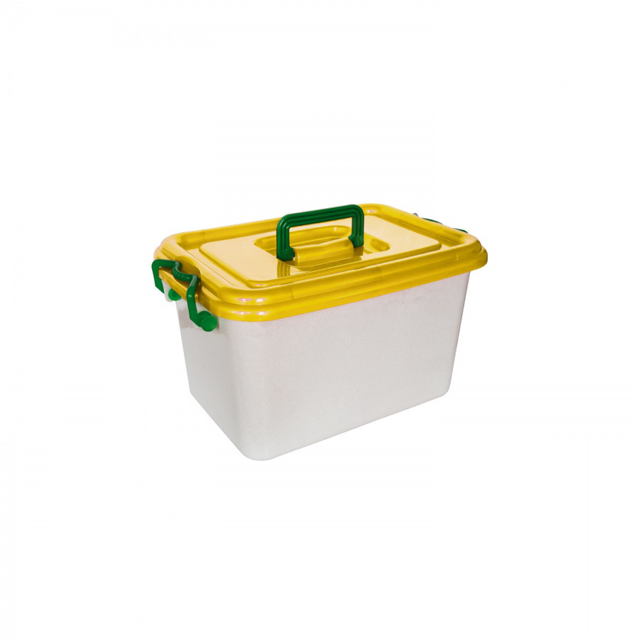 Контейнер с крышкой (10 л.) из пластика