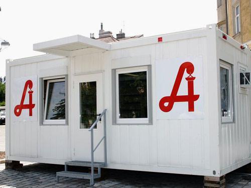 Медицинские пункты из блок контейнера