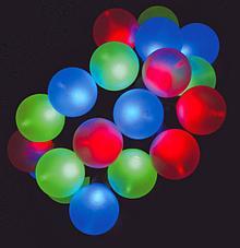 LED пиксель мяч DMX IP68 наружного освещения