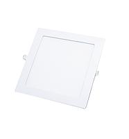 LED Спот встр. KVADRO/R 12w d166-166 6500K бел.