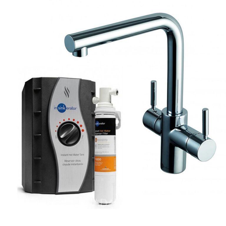 Комбинированная система мгновенного кипячения Aquahot ISE F-H3N1-C-1, (хром)