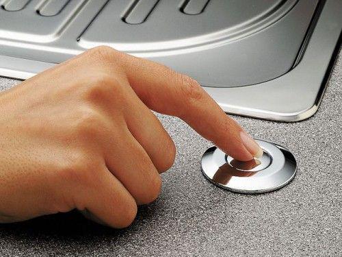 Кнопка пневматического управления (пневмокнопка) арт.72218 хром
