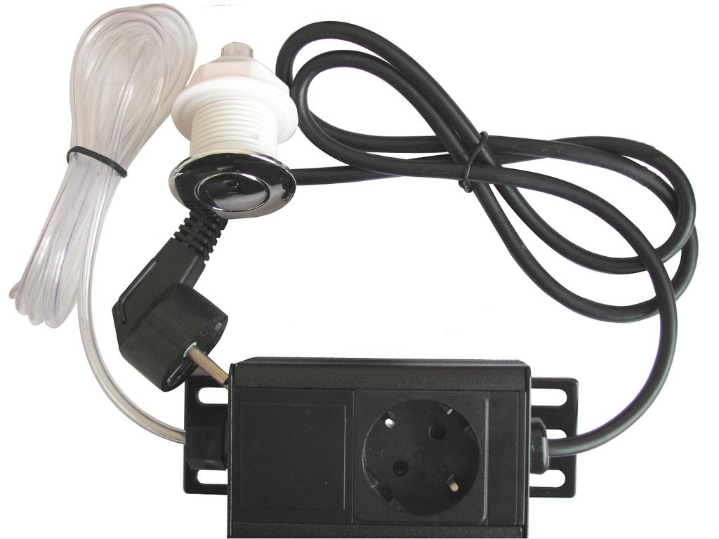 Пусковое устройство с пневмокнопкой