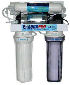 Cистема обратного осмоса AquaPro, 4 ступени, AP-580P, с насосом