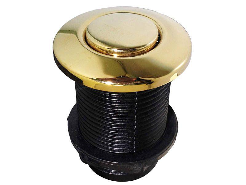 Кнопка пневматическая в цвете FRENCH GOLD  (пневмокнопка)