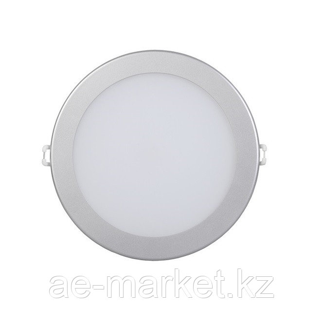 LED Спот панель круг. встр. 18w d242 4000K серебро.