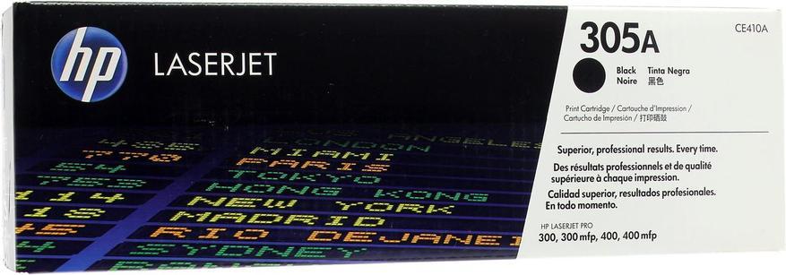 Картридж лазерный Черный НР (№305A) для HP 300/300mlp, 400/400mlp, фото 2