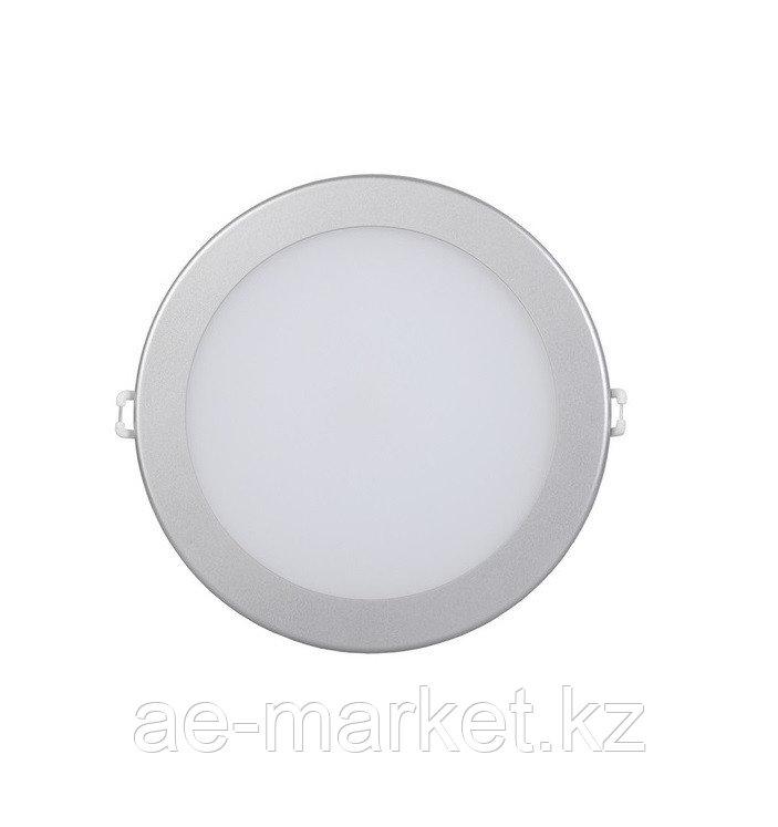 LED Спот панель круг. встр. 12w d186 4000K серебро.