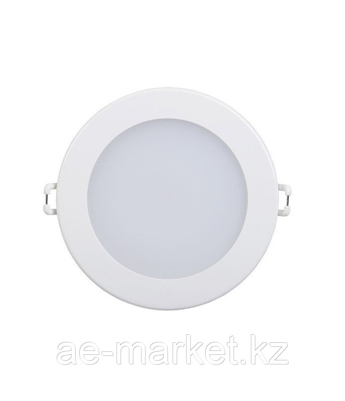 LED Спот панель круглый встр. 7w 4000K d130 бел.