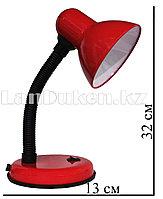 Гнущаяся лампа-светильник(настольный) красный