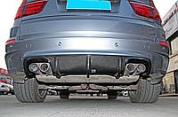 Карбоновый диффузор Vorsteiner для BMW X5m E70, фото 1