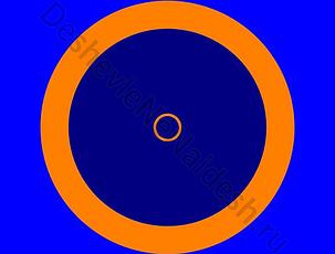 Покрышка для борцовский ковер трехцветный 12х12м, фото 2