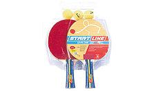 Набор: 2 Ракетки Level 200, 3 Мяча Club Select, упаковано в блистер