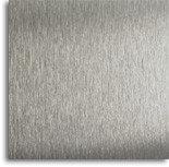 Металл для сублимации 185х260 мм. Серебро текстурное