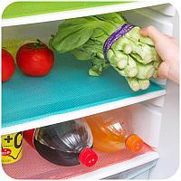 Антибактериальные коврики в холодильник 4шт