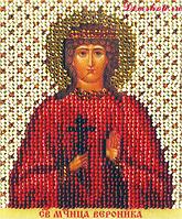 Набор для вышивки бисером Чарівна Мить Б-1215 Икона святая мученица Вероника