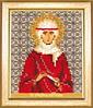 Набор для вышивки бисером Чарівна Мить Б-1176 Икона святая праведная Ангелина