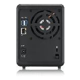 Zyxel NAS326 Сетевое хранилище на 2 диска (до 12 ГБ каждый), 1xLAN GE, 2xUSB3.0, 1xUSB2.0, фото 3