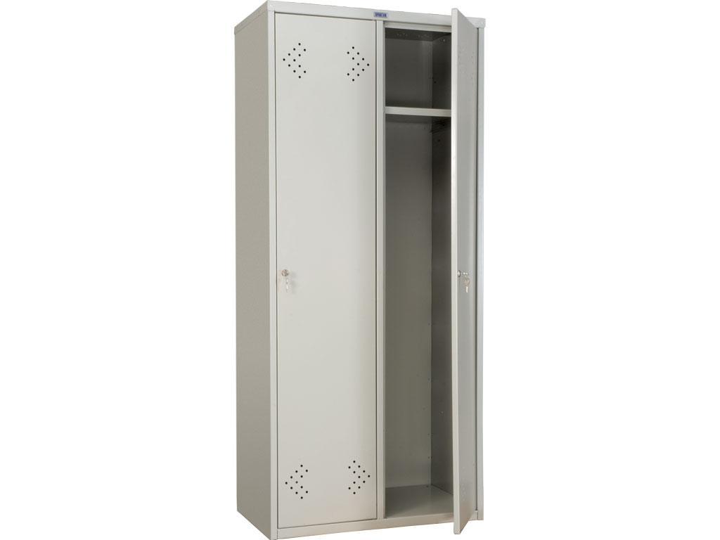 Шкаф для одежды металлический ПРАКТИК LS 21-80 (1830х813х500 мм)