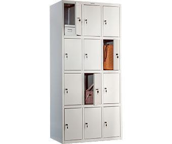 Шкаф металлический ПРАКТИК LS 34 (1830х418х500 мм)