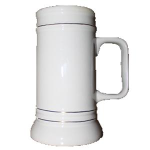 Кружка пивная керамическая (Бавария-2) 20 oz