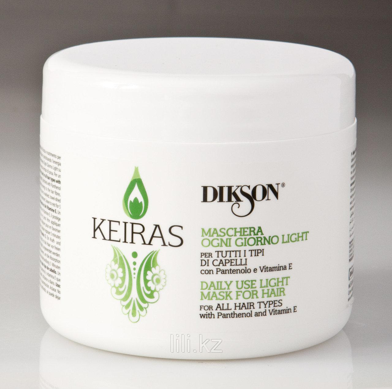 Маска для ежедневного применения с пантенолом и витамином Е - Dikson Keiras Mask Ogni Giorno Light 500 мл.