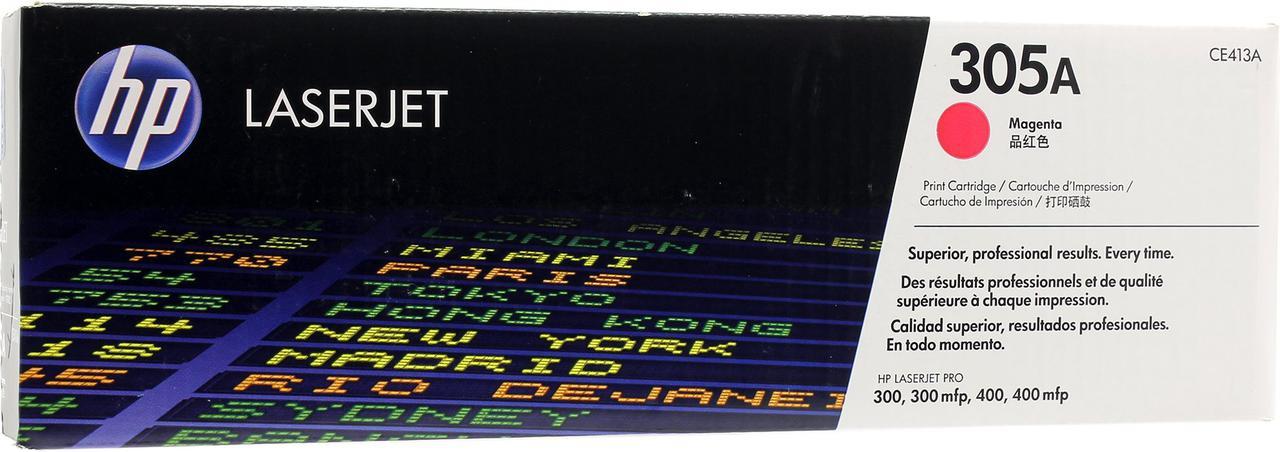 Картридж лазерный Пурпурный Magenta НР (№305A) для HP 300/300mlp, 400/400mlp