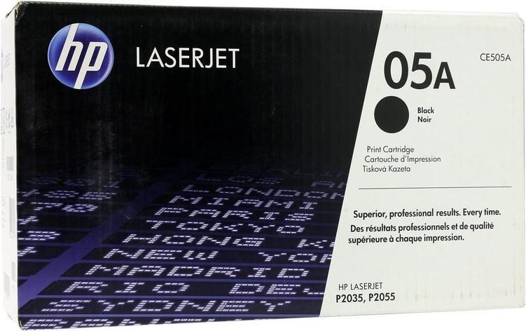 Картридж лазерный Черный  НР (№05A) для HP HP LaserJet P2035 / 2055, фото 2