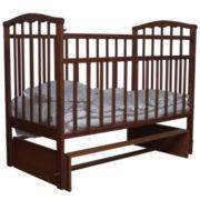 Детская кроватка Агат Золушка-3 маятник поперечный