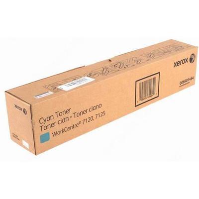 Тонер-картридж Голубой (Cyаn) для Xerox WorkCenter7220/7225/7120/7125 (006R01464) Оригинал, фото 2