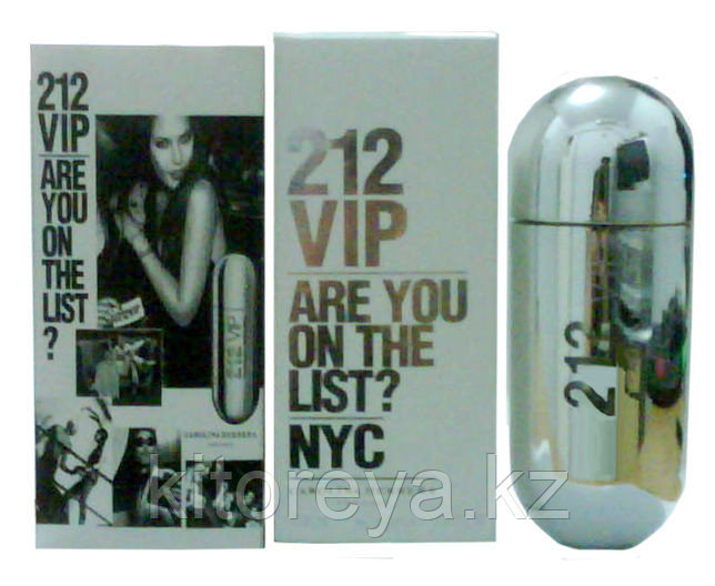 Carolina Herrera 212 VIP ( 100 мг ) - Серебро