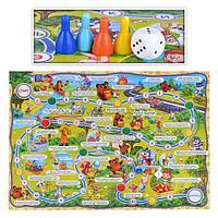 Настольная игра-ходилка Азбука Мультяшек, фото 1