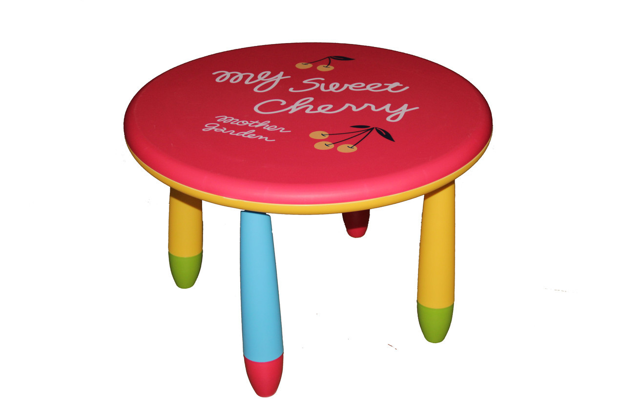 Детский круглый столик