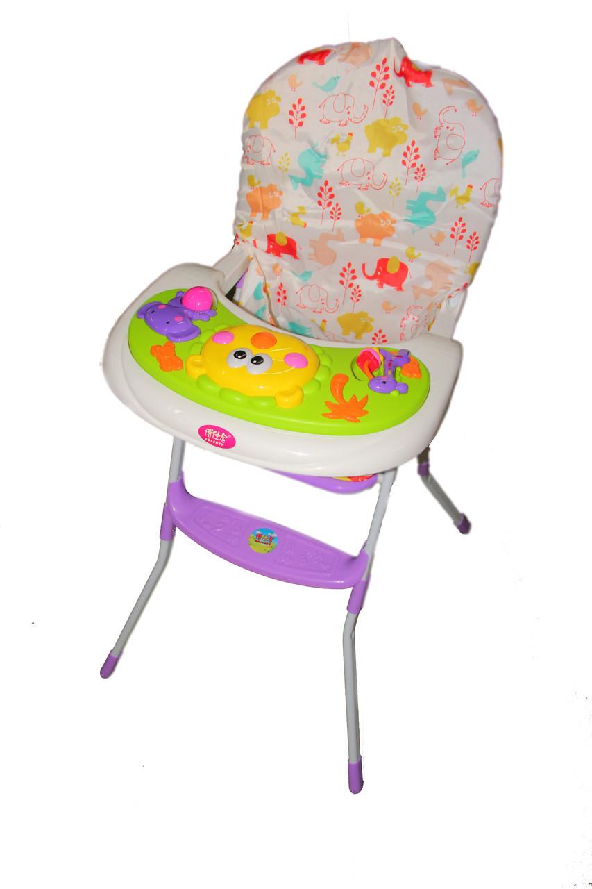 Детский высокий стул