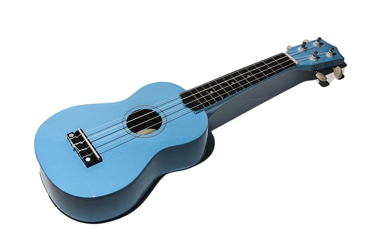Гитара детская, 50 см, голубой