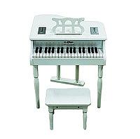 """Детское пианино """"Bolaven"""" (белое), со стулом"""